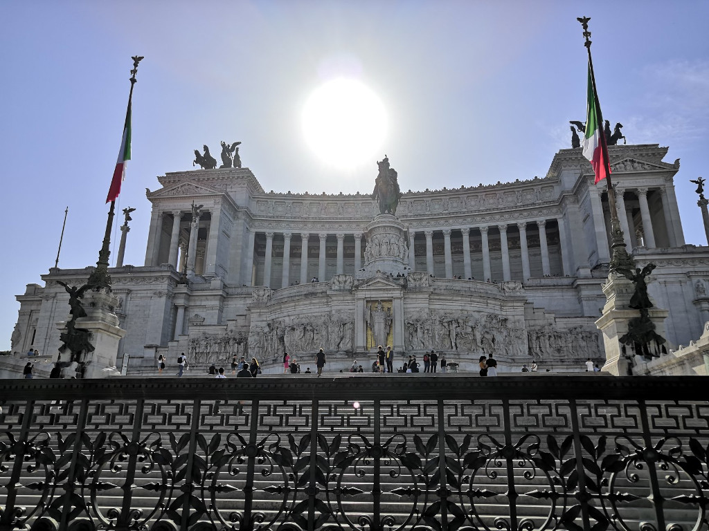 Alter of the Fatherland. Walk down Via del Corso for a spectacular view