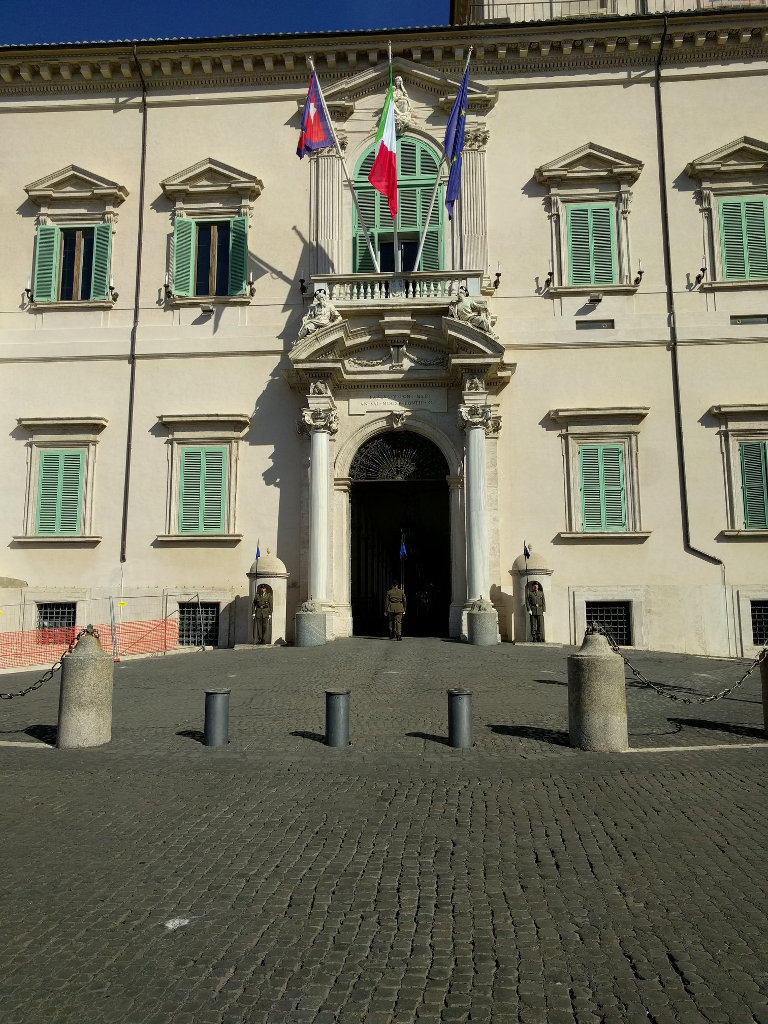 Changing of the Guard at Quirinale Palace