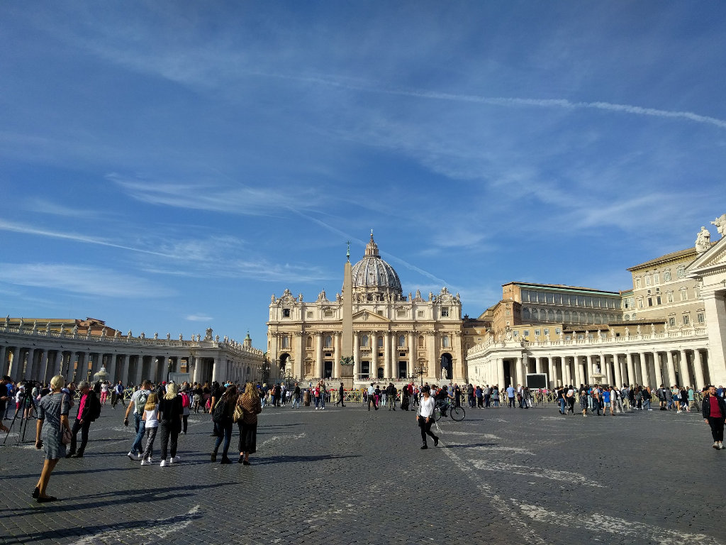 The Vatican, St Peters, the Sistine Chapel, and Vatican Museum.