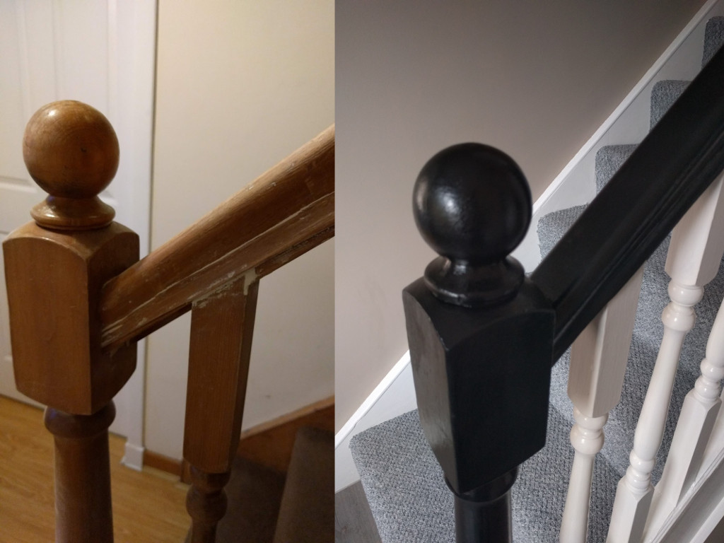 Knackered Bannisters Before & After
